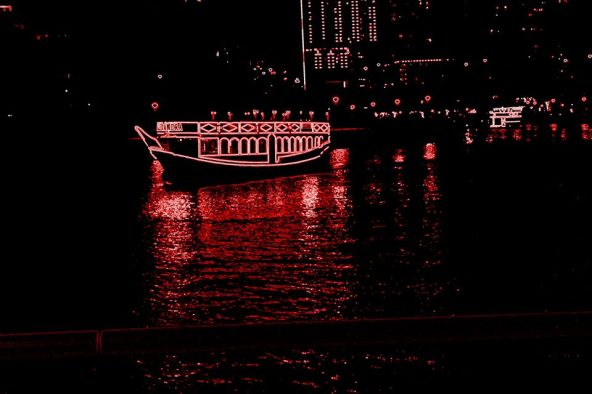 Dhow cruise along Dubai Marina. Photo by JV Malabanan
