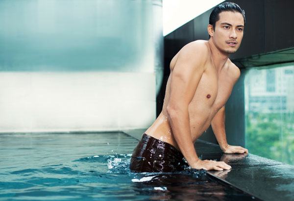 Photo by GABBY CANTERO Produced by DAVID MILAN Grooming by ANGIE CRUZ of Shu Uemura