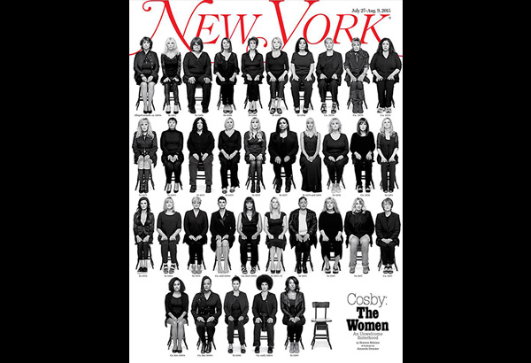 "Here the victims are, on the cover of one of the most influential publications in the world, given a space that is all their own, to tell their stories on their own terms without anyone interjecting, ""What were you wearing when you were raped?"""