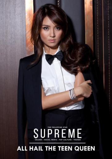 Kathryn Bernardo for Philippine Star SUPREME, March 29, 2014 Photo by Melson Bolongaita