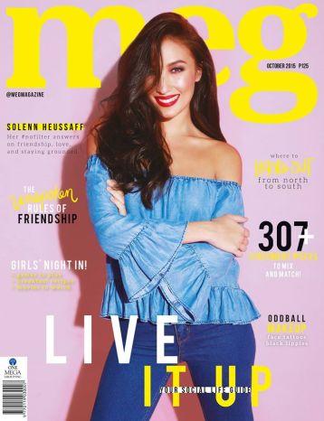 Solenn Heussaff for Meg Magazine, October 2015