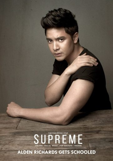 Alden Richards for Philippine Star SUPRMEME, October 25, 2014 Photo by Cholo Dela Vega