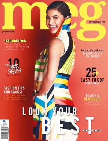Anne Curtis for Meg Magazine, September 2015